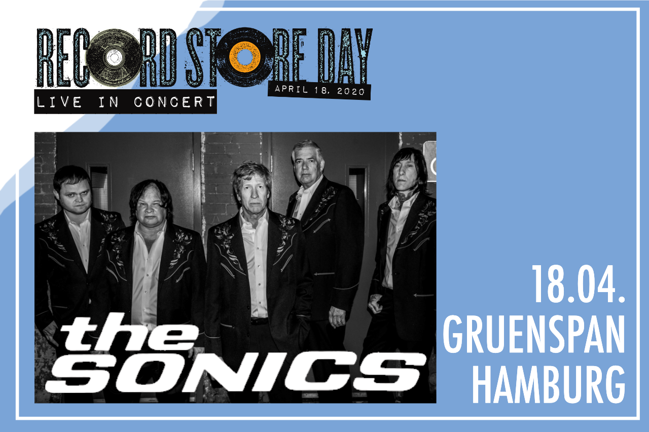 RSD Live In Concert: The Sonics