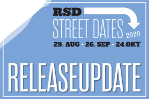 Release-Update zu den RSD Street Dates im August, September und Oktober 2020